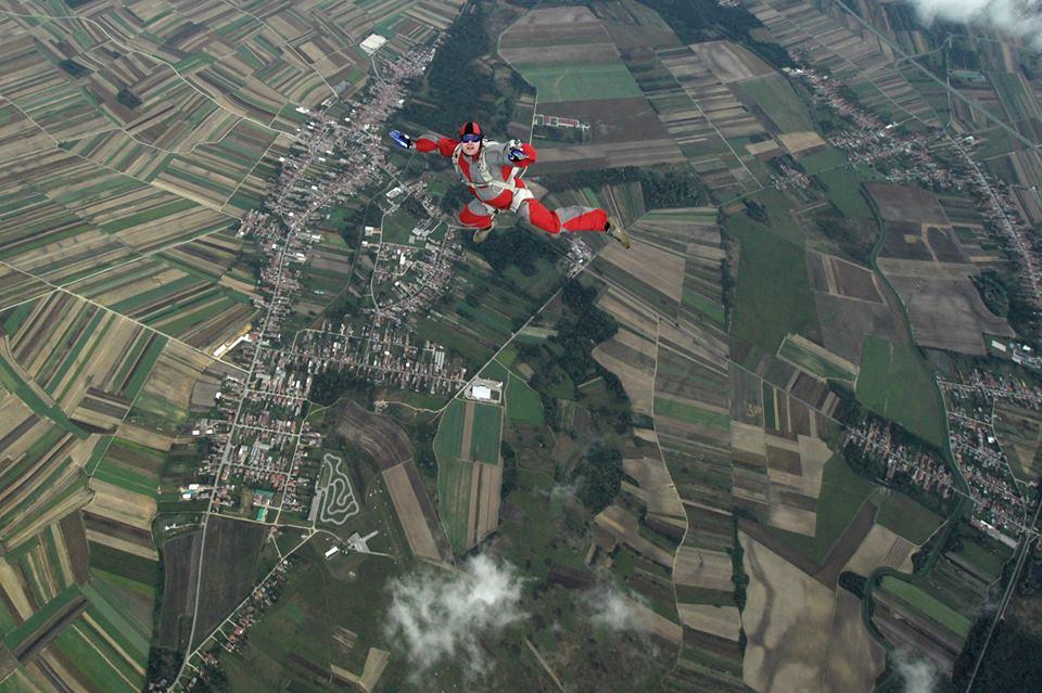 Najava padobranskih skokova
