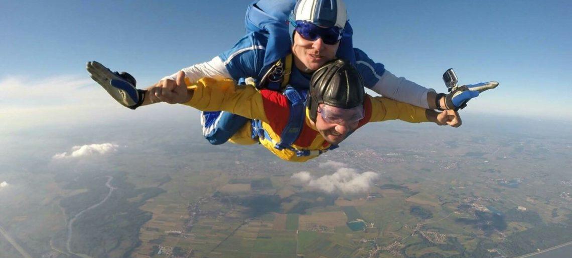 Tandem skokovi padobranom – POPUNJENO